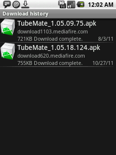 tubemate for android downloads